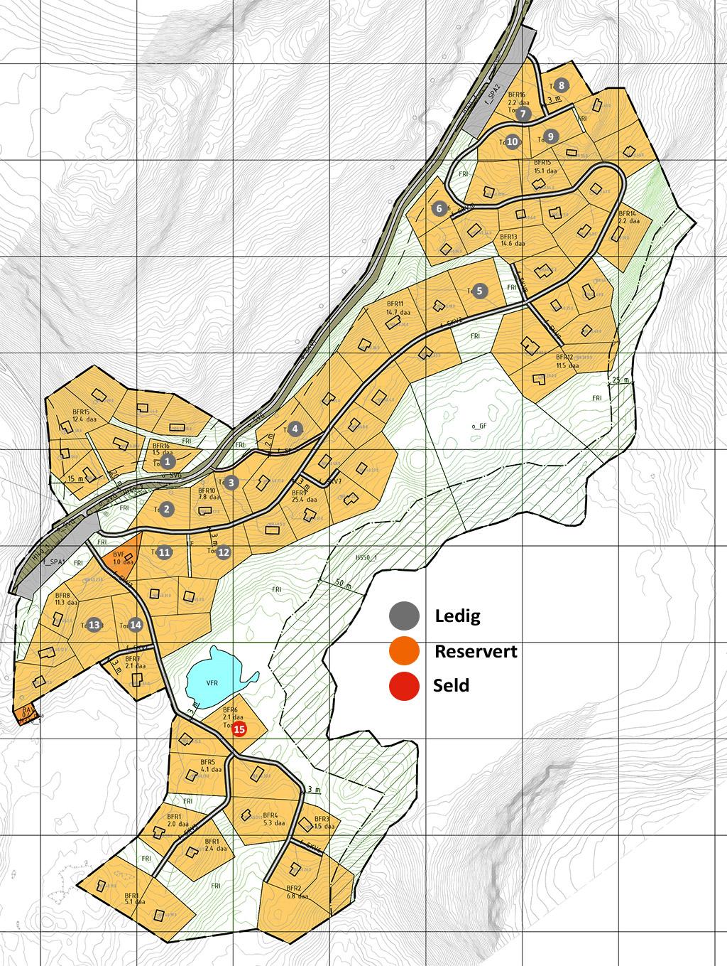 Kart Stordalen hytte